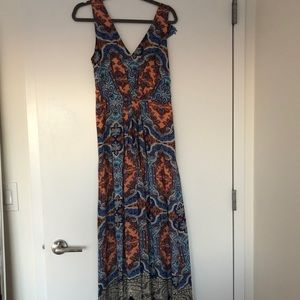 Mauve Maxi Dress from Anthropologie